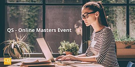 QS Online Event για Μεταπτυχιακά - Αθήνα tickets