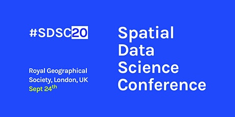 Spatial Data Science Conference Europe tickets