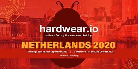 hardwear.io Security Conference and Training, Netherlands 2020 tickets