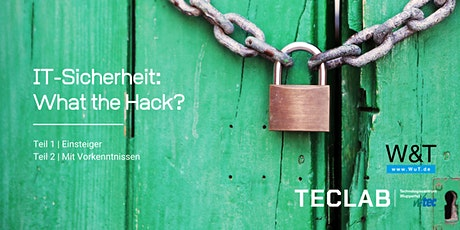 IT Sicherheit: What the Hack? Teil 2 Tickets