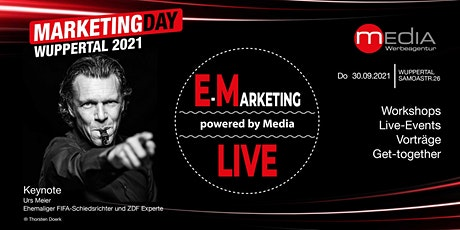 Marketing Day Wuppertal 2021 - WORKSHOPS • LIVE EVENTS • GET-TOGETHER tickets