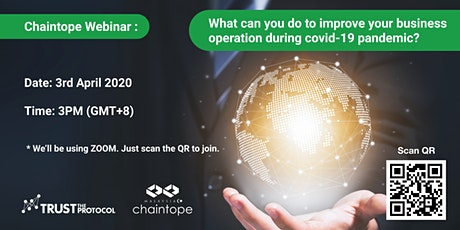 (Online) What can you do to improve your business operation during covid-19 tickets