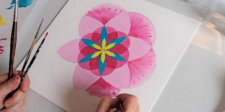 Atelier Mandala fleur de vie billets