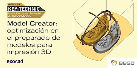 Model Creator: optimización en el preparado de modelos  para  impresión 3D entradas