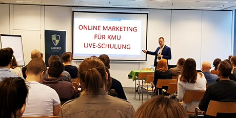 Online Marketing für KMU | Online-Live-Schulung Tickets