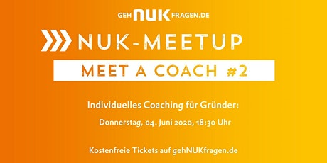 Online: Meet a coach #2 | NUK-Meetup  Tickets