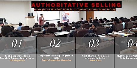 Top Sales Training in Bangalore tickets