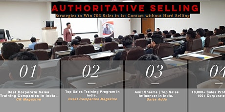 Top Sales Training in Pune tickets