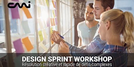 Design Sprint Workshop - Résolution créative et rapide de défis complexes billets