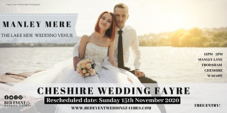 Cheshire Wedding Fayre at Manley Mere Wedding Venue on the Lake tickets