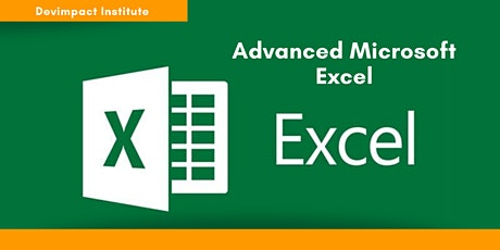 Training on Advanced Microsoft Excel tickets