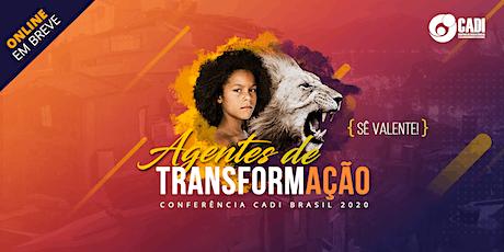 Conferência CADI 2020 ingressos