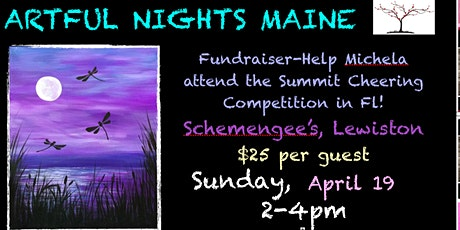FUNdraiser-Painting for Michela to go to Summit Cheerleading Competition in FL tickets