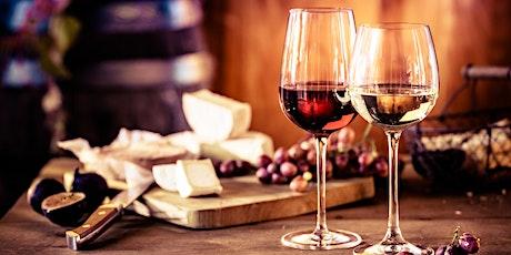 Wine & Cheese Pairing tickets