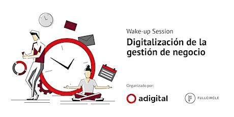 Digitalización de la gestión de negocio entradas