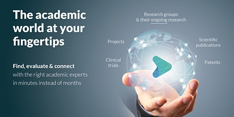 How Pharma R&D professionals can find the right Academic Experts in minutes tickets