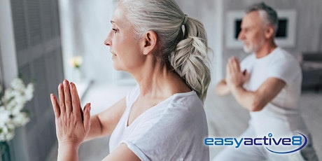 EasyActive8 Online Yoga for Seniors Class tickets