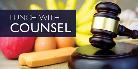 Lunch with Counsel tickets
