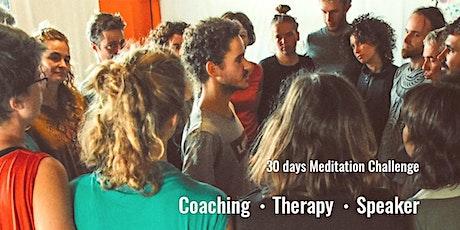 30 dias de Meditação em Casa. bilhetes