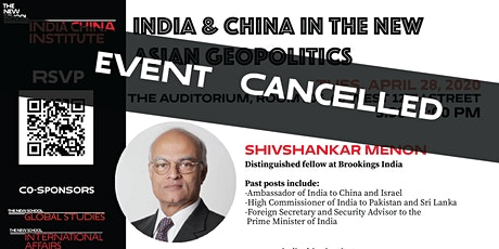 India and China in the New Asian Geopolitics tickets