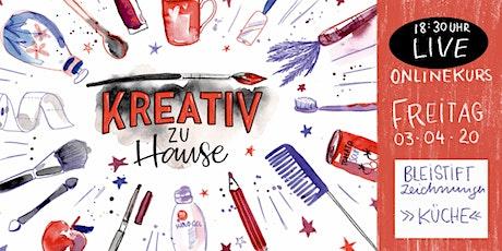 Facebook Live! Bleistiftzeichnung - zu Hause malen lernen tickets