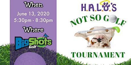 H.A.L.O.'s Not So Golf Tournament tickets
