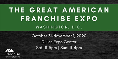 The Great American Franchise Expo: Washington, D.C. tickets