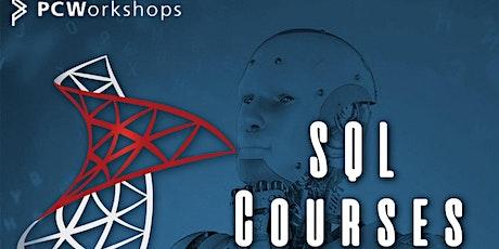MS SQL  Server Intermediate Course, 3 days. Virtual Classroom. tickets