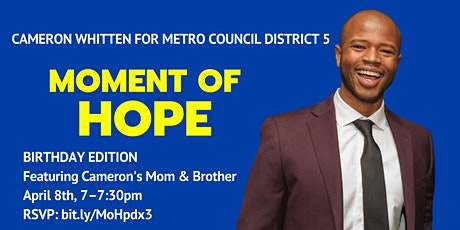 Moment of Hope  – BIRTHDAY EDITION! tickets