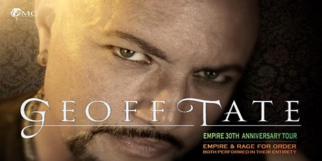 new date  Geoff Tate + support tickets