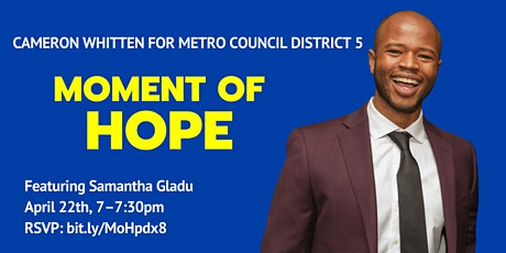Moment of Hope  with Samantha Gladu tickets