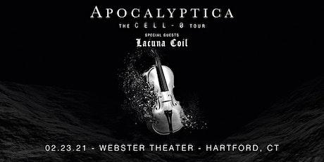 APOCALYPTICA: CELL-0 TOUR tickets