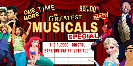 One More Time - 90's & 00's Party presents The Greatest Musicals Special tickets