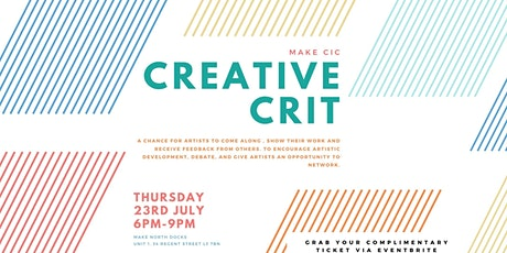 Creative Crit tickets