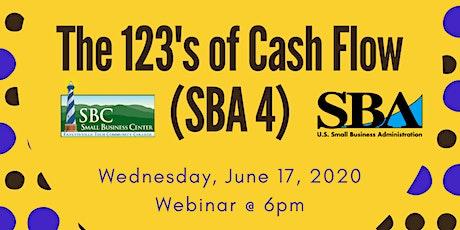 The 123's of Cash Flow (SBA 4) tickets