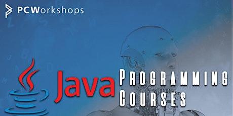 Java Programming Fundamentals Course, evenings, 6 weeks. Virtual Classroom. ingressos