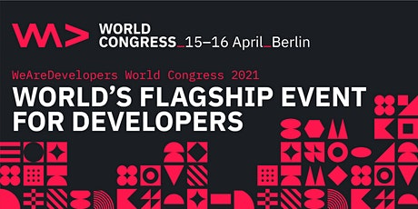 WeAreDevelopers World Congress Tickets