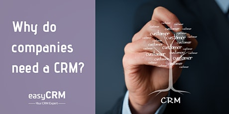 Why do companies need a CRM? tickets