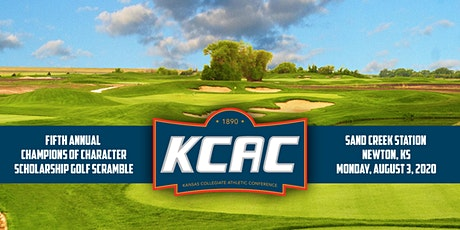 Fifth Annual KCAC Champions of Character Scholarship Golf Scramble tickets