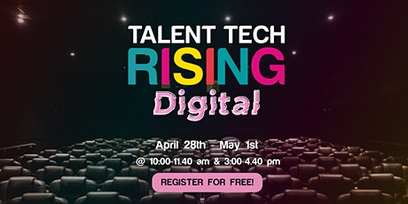 Talent Tech Rising Digital 2020 tickets