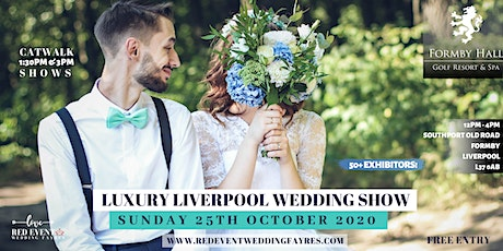 Luxury Liverpool Wedding Fair tickets