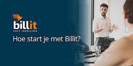 Hoe start je met Billit? (Hasselt) tickets