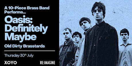 10 Piece Brass Band Perform - Oasis: Definitely Maybe tickets