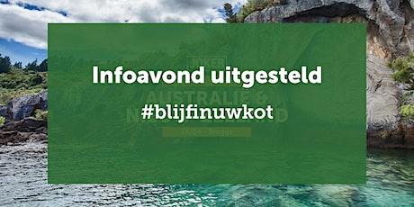 UITGESTELD - Infoavond Australië/N-Zeeland  in Brugge  - individuele reizen tickets