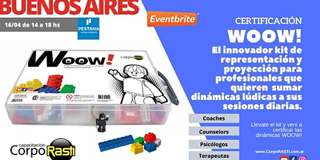 Woow by CorpoRASTI Taller para Coaches, Terapeutas, Counselors y Psicolog entradas