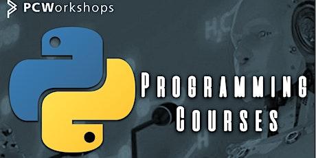 Python Programming Basics Course, 3 days Fulltime.  Virtual Classroom. tickets