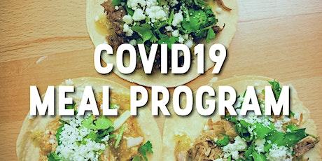 COVID19 Meal Program tickets