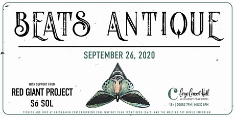 Beats Antique at Cargo Concert Hall [Rescheduled date] tickets