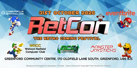 RetCon - The Retro Gaming Festival 2020 tickets