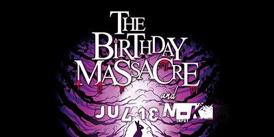 THE BIRTHDAY MASSACRE / JULIEN-K / SCREAM AT THE SKY / MANIFESTIV